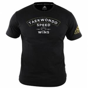 Adidas T-Shirt TKD Speed Wins Svart