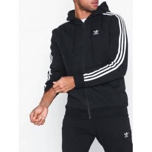 Adidas Originals 3-Stripes Fz Tröjor Svart