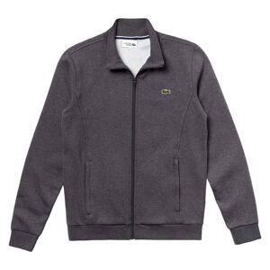 Lacoste Sport Herr Sweatshirt med blixtlås grå