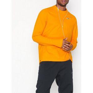 cheap for discount fc50e f1fa1 Nike M Nk Thermal Top Mock Träningströjor Orange