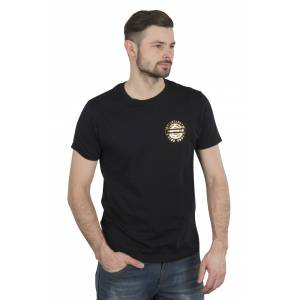 Spidi T-Shirt Spidi Crown Svart