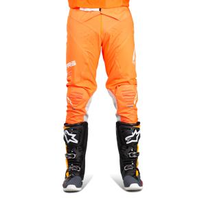 Alpinestars Supertech Crossbyxor Fluo Orange-Vit-Blå