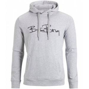 Björn Borg BJORN BORG Hood Signature Grey Mens (L)