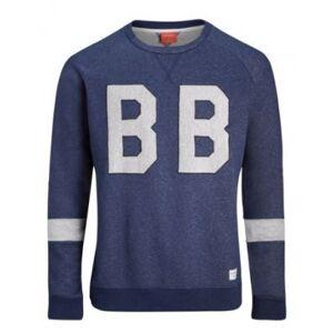 Björn Borg BJORN BORG Lynx Sweater Blue Mens Rea (XS)