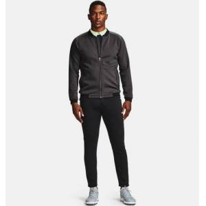 Under Armour Men's UA Range Unlimited Storm Full-Zip Bomber Jacket Gray SM