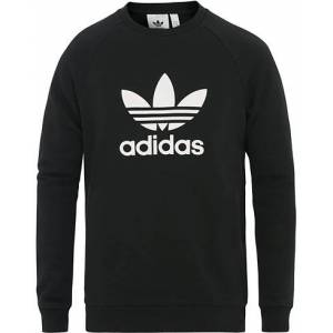 adidas Originals Trefoil Logo Crew Neck Sweatshirt Black