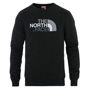 The North Face Drew Peak Crew Neck Sweatshirt TNF Black