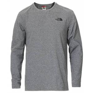 The North Face Simple Dome Long Sleeve Tee Heather Grey