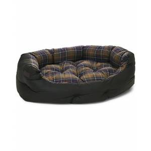 Barbour Heritage Wax Cotton Dog Bed 35' Olive