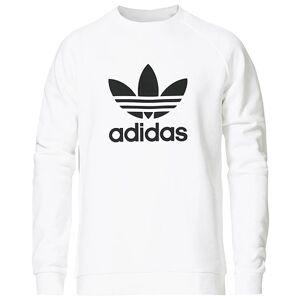 adidas Originals Trefoil Crew Neck Sweatshirt White