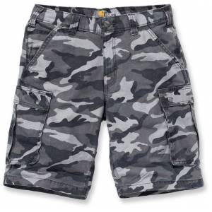Carhartt Rugged Cargo Camo Shorts Grå 30