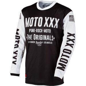 Oneal O´Neal Moto XXX Vented Jersey Svart Vit M