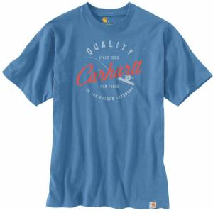 Carhartt Workwear Fishing T-shirt Blå S