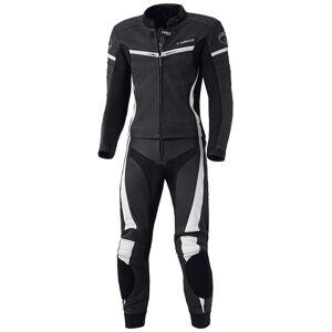 Held Spire Two Piece Motorcycle Leather Suit Tvådelad motorcykel läder kostym 52 Svart Vit
