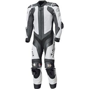 Held Race-Evo II Ett stycke motorcykel läder kostym XL 48 50 Svart Vit