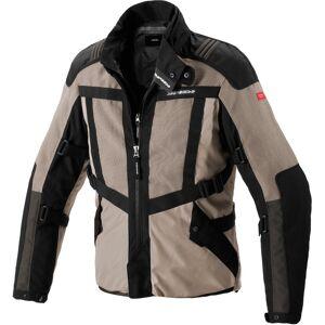 Spidi Netrunner H2Out Motorcykel textil jacka L Svart Beige