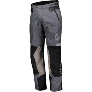 Scott Dualraid Dryo Motorcykel Textil Byxor XL Svart Grå