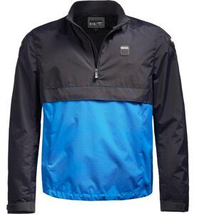 Blauer Spring Pull Motorcykel Textil jacka 3XL Blå