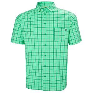 Helly Hansen Fjord Qd Ss Shirt M Green