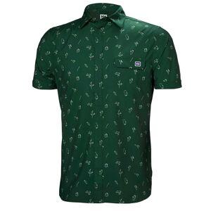 Helly Hansen Oya Ss Shirt L Green