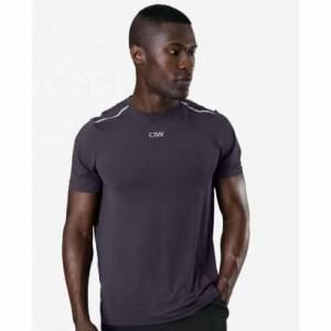 ICANIWILL Mens Lightweight Training T-shirt, Graphite