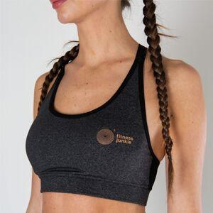 Fitnessjunkie Signature Sports Bra Grey