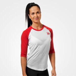 Better Bodies Womens Baseball Tee Scarlet Red