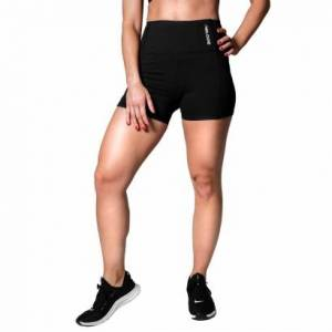 Relode Silhouette Shorts, Black