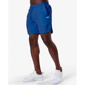 ICANIWILL Mens Competitor Shorts, Vivid Blue