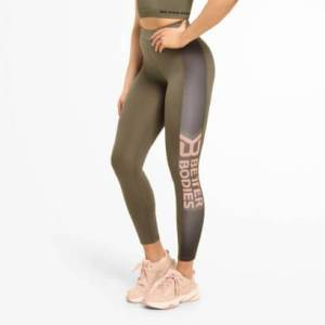 Better Bodies Chrystie High Tights, Wash Green