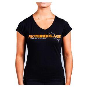 Proteinbolaget Logo Girl T-shirt, Black