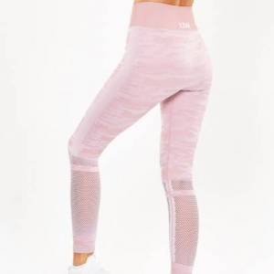 ICANIWILL Seamless Tights, Camo Dusty Pink