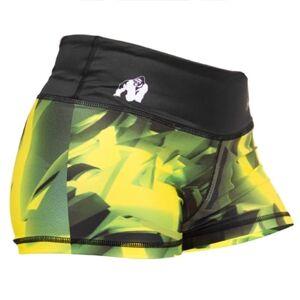 Gorilla Wear Reno Hotpants Green/Yellow