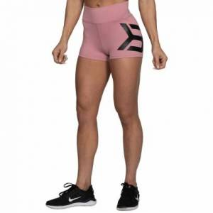 Better Bodies Gracie Hotpants, Heather Pink
