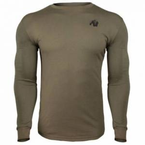 Gorilla Wear Williams Longsleeve, Army Green