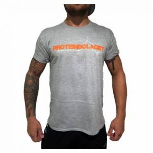 Proteinbolaget logo t-shirt, grey