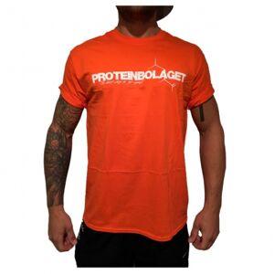 Proteinbolaget logo t-shirt, orange