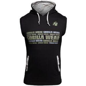 Gorilla Wear Melbourne SL Hooded T-Shirt, Black