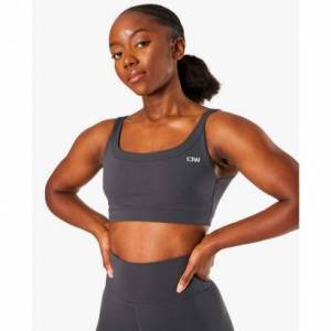ICANIWILL Nimble Sports Bra, Anthracite