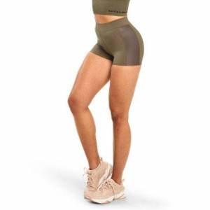 Better Bodies Chrystie hotpants, Wash Green