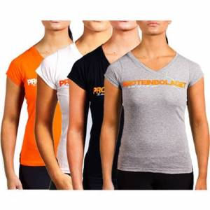 Proteinbolaget logo Girl T-shirt, 3 för 2