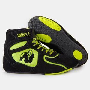 Gorilla Wear Chicago High Tops, black/neon lime