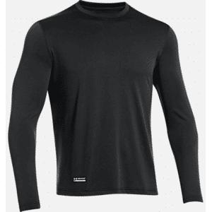 Under Armour Tactical UA Tech Long Sleeve T-Shirt (Färg: Svart, Storlek: 3XL)