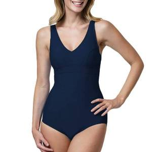 Abecita Alanya Swimsuit - Navy-2  - Size: 405291 - Color: Merensininen