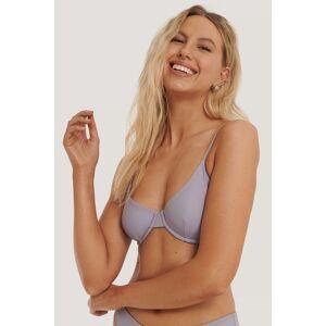 NA-KD Swimwear Basic Bikini Cup Bra - Purple