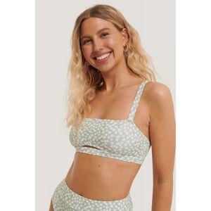 NA-KD Swimwear Bondi Bandeau-Bikinitopp Med Brede Stropper - Multicolor