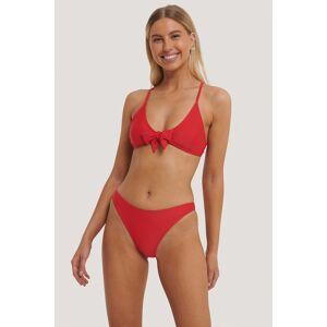 NA-KD Swimwear Bikinitruse Med Høy Skjæring - Red