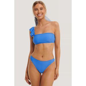 NA-KD Swimwear Bikinitruse Med Høy Skjæring - Blue