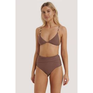 NA-KD Swimwear Bikinitruse Med Høyt Liv - Purple