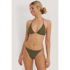 NA-KD Swimwear Trekanttruse - Green